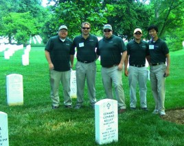 Green Lawn Fertilizing Gives Back to Arlington National Cemetery