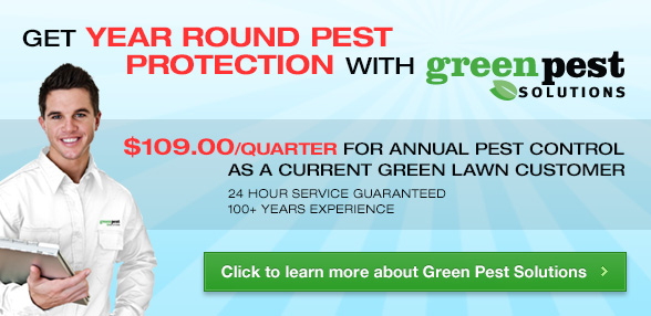 Green Pest Solutions – $109.00/Quarter
