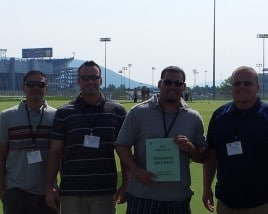 Green Lawn Fertilizing Visits Penn State for Annual Turf Field Day