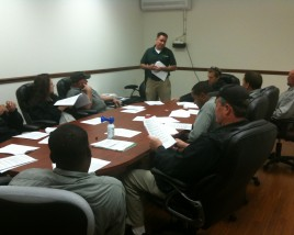 Green Pest Solutions conference room and training