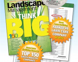 Green Lawn Fertilizing ranks number 9 in Lawn Care according to Lawn and Landscape Magazine