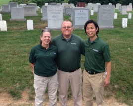 Green Lawn Fertilizing Donates Lawn Care Services in 17th Annual Renewal & Remembrance Day at Arlington National Cemetery