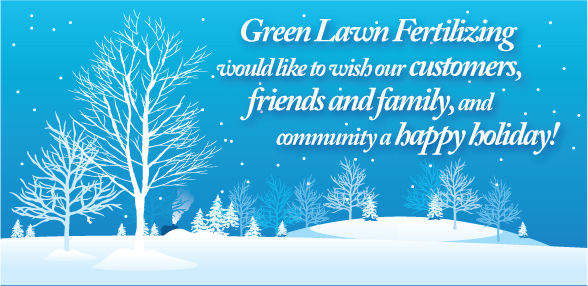 Happy Holidays from the Green Lawn Team!