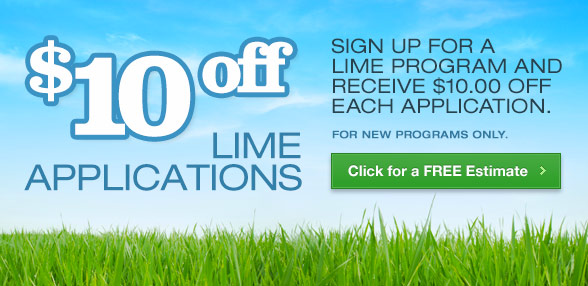 $10 off Lime Applications