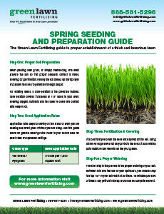 Spring Seeding and Prep Guide