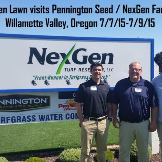 Green Lawn Visits Pennington Seed & NexGen in Oregon