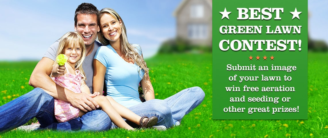 Best Green Lawn Contest banner 2017